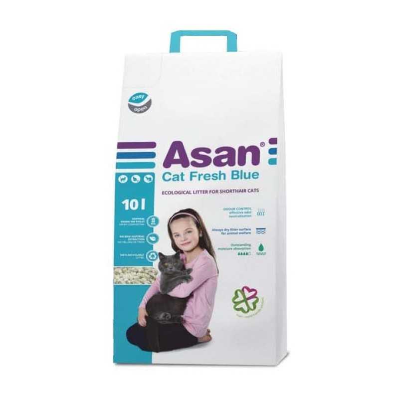 ASAN Cat Fresch blue 10l.-2kg neutralizace pachů