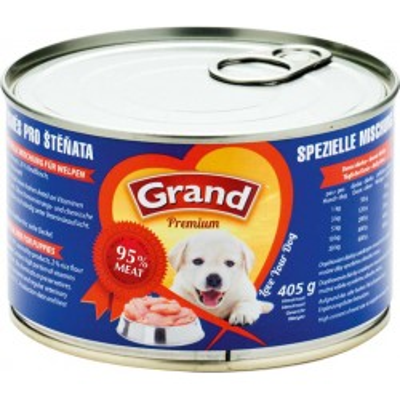 GRAND Premium směs pro štěňata 405g