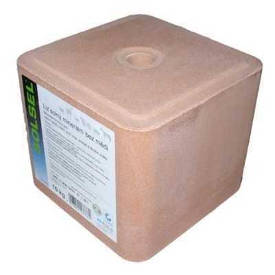Sůl lisovaná 10kg-růžová