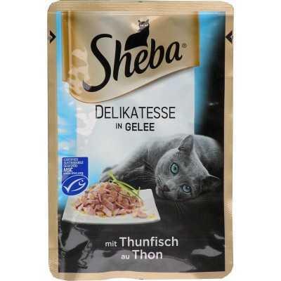 SHEBA kaps.DELICATO 85g tuňák