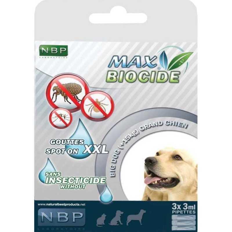 Max Biocide SPOT ON Dog 3x3ml XXL