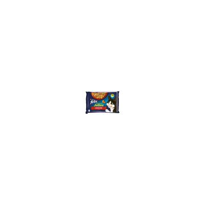FELIX kapsičky 4x85g s kuře a rajče/hovězí a mrkev