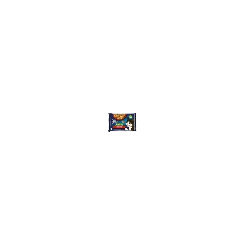 FELIX Sensations kapsička 4x85g s hovězím a kuřetem v och.želé