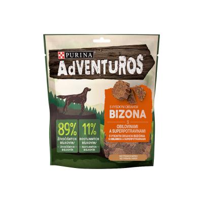 ADVENTUROS 90g-bizoni s brusinkovou šťávou