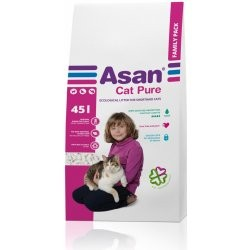 ASAN Cat Pure Family 45l.-9kg