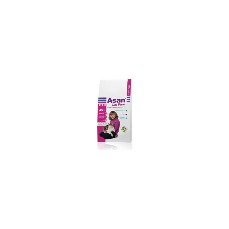 ASAN Cat Pure Family 45l.-9kg